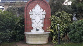 Very old fountain Stock Images