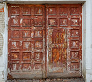 Very old gateway Royalty Free Stock Photo