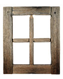 Very old grunged wooden window Royalty Free Stock Image