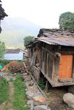 A very old house. Manali in India Royalty Free Stock Image