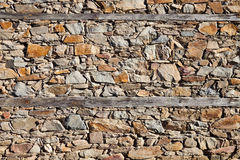 Very Old House Wall Stock Photography