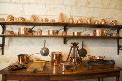 Very old kitchen Stock Image