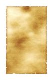 Very old paper. Sheet of the old paper. The picture is convenient for drawing on it of the text or images Royalty Free Stock Photography