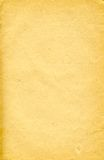 Very old paper 4. Sheet of the old paper which has turned yellow from time. The picture is convenient for drawing on it of the text or images royalty free stock image