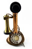 Very Old Phone. From the early 20th century Royalty Free Stock Photo