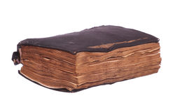 Very old prayer book Stock Image