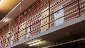 Very old prison door Stock Photos