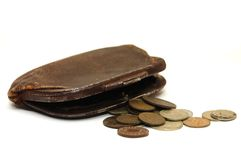 Very Old Purse Stock Images