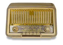Very Old Radio. Vintage radio Stock Photos