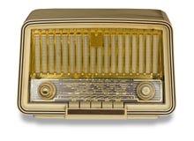 Very Old Radio. Vintage radio Stock Photos