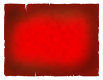 Very old red paper. Old grunge textured red paper in white background royalty free illustration