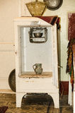 Very old refrigerator Stock Photo