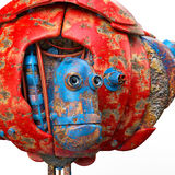 Very old robot close up Royalty Free Stock Images