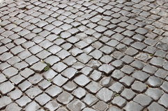 Very old roman pavement Stock Photo