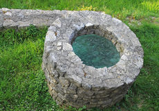 Stone well Royalty Free Stock Images