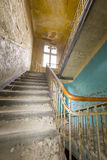 Very old ruinous staircase Royalty Free Stock Images