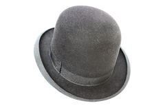 Very old silk hat Royalty Free Stock Photos