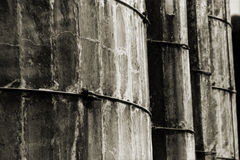 Very Old Silos Stock Images
