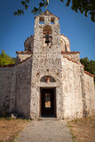 Very Old Small Orthodox Christian Church at Rhodes Island Stock Photos