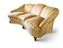 Very old sofa Royalty Free Stock Image