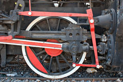 Very old steam engine Stock Photography