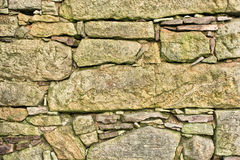 Very old stone wall Stock Photos