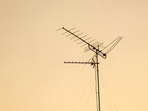 Old style antenna Royalty Free Stock Photo