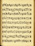 Very Old Style Musical Score Royalty Free Stock Photo