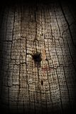 Very old textured oak wood Stock Image