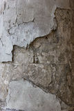 Very old theatre column, which is crumbling from time to time. Stock Image