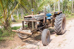 Very old tractor Stock Photos