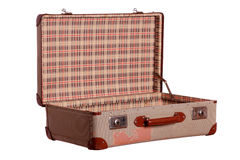 Very old used suitcase Royalty Free Stock Image