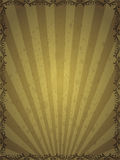 Very old vintage background with beautiful pattern Stock Image