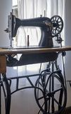 Very old vintage sewing machine 1 Stock Photos
