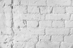 Old white brick wall texture background background stock photo