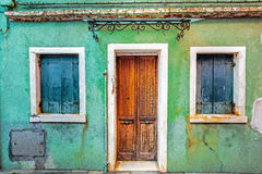 Very old windows Royalty Free Stock Image