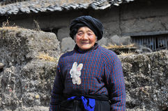 Very old woman face Royalty Free Stock Image