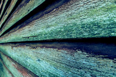Very old wood background in perspective Stock Photo
