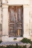 Very old wood door Royalty Free Stock Image