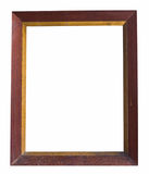 Very old wooden frame Stock Images