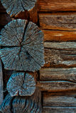 Very old wooden wall texture Royalty Free Stock Photography