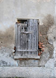 Very old wooden window Stock Photo