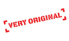 Very Original rubber stamp Royalty Free Stock Image