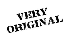 Very Original rubber stamp Stock Images