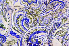 Beautifull botanic swirling  pattern. A very ornate and very elaborate pattern of flowers and leaves Stock Images