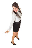 Very pretty business woman Stock Image