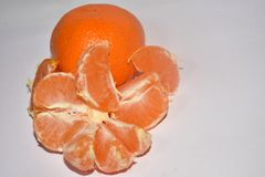 Beautiful colorful citrus close up royalty free stock photography