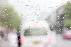 A very rare rainy day in Bangkok, Thailand Royalty Free Stock Image