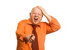 It is very ridiculous! Royalty Free Stock Images