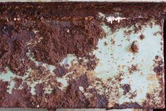Very rusty metallic surface Stock Photos